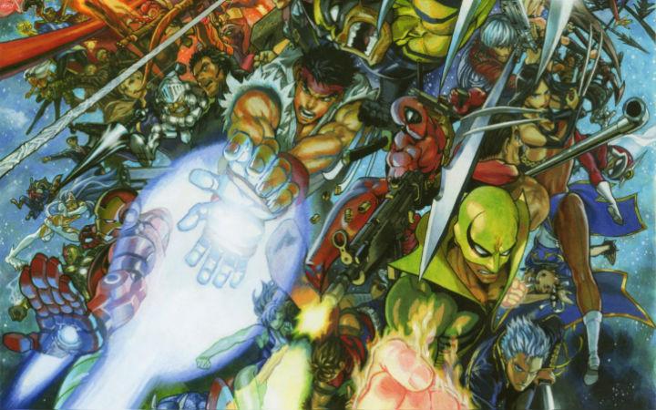 《一拳超人》重置版漫画作者最新美漫英雄手绘图 画功惊人