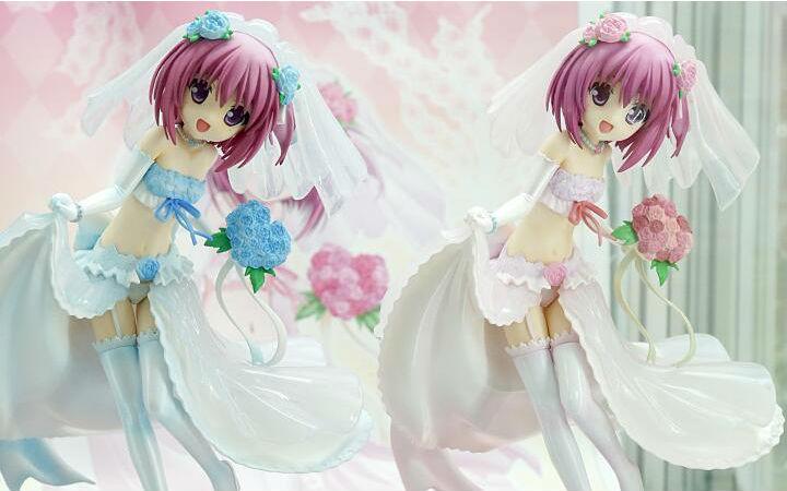 本月发售!《萝球社 凑智花~蓝色婚纱礼服Ver.~》样品展示