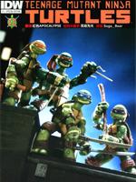 忍者神龟玩具漫画