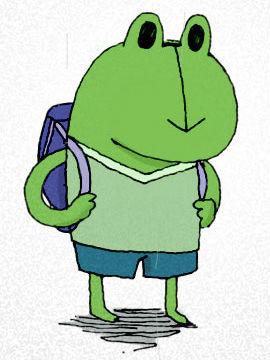 蛙啦蛙啦与猩猩队长的故事
