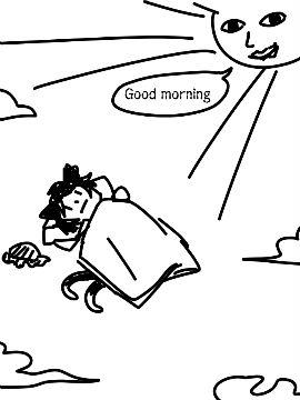 幻想乡的美好清晨