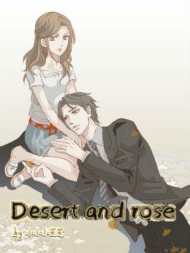 Desert and rose