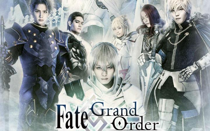 舞台剧《Fate/Grand Order》主要演员新定妆照公开