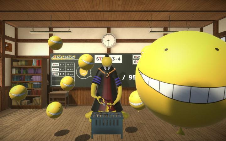 用VR看杀老师!PC游戏《暗杀教室VR 气球挑战的一课》发售