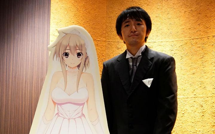 日媒采访《新妻LOVELY×CATION》VR婚礼现场