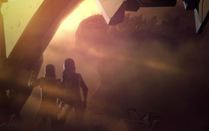 CG动画电影《哥斯拉 怪兽行星》特别公开