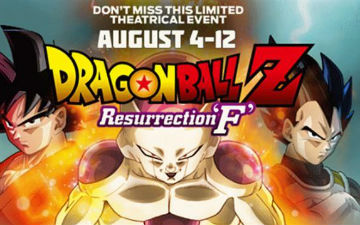 《龙珠Z复活的F》美国票房飘红 影片口碑逆天