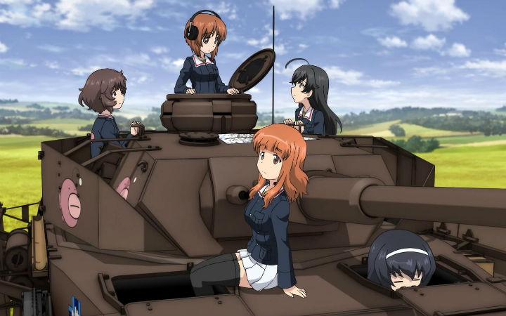 剧场版《少女与战车 最终章》第一话以及PS4游戏宣传视频