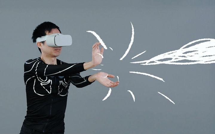 "VR游戏也能用!能感知动作的衣服""e-skin""将开始众筹"
