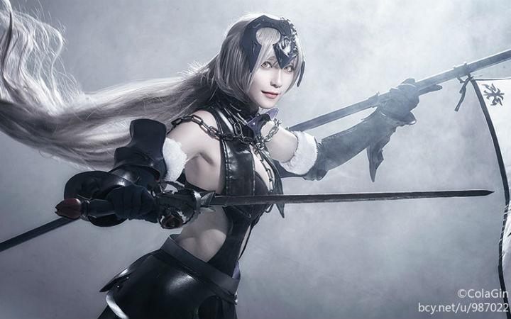 前排许愿《Fate/Grand Order》黑贞德的COSPLAY欣赏