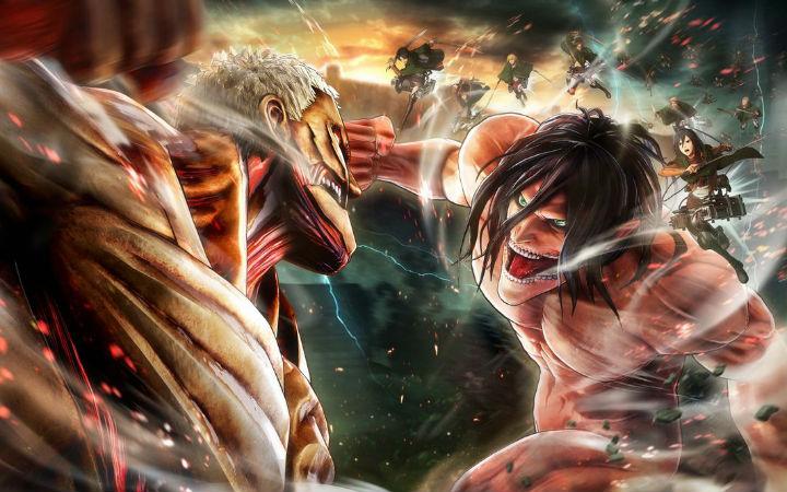 游戏《进击的巨人2》PV公开!2018年发售
