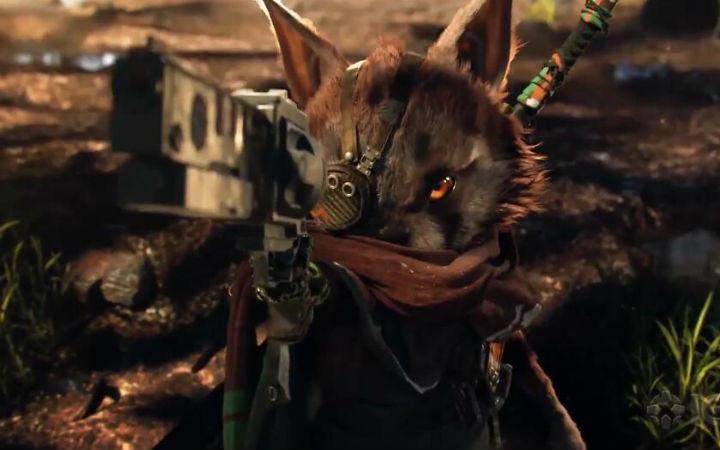 动物们拿起武器战斗!THQ新作游戏《Biomutant》宣传片