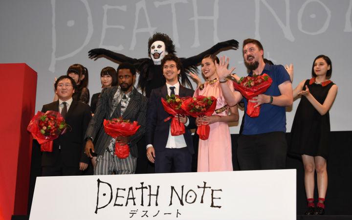 真人版《死亡笔记》今日公开!日本首映式现场报道