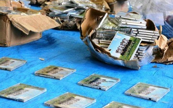 AKB48粉丝在山中扔585张CD!因违法丢弃被起诉