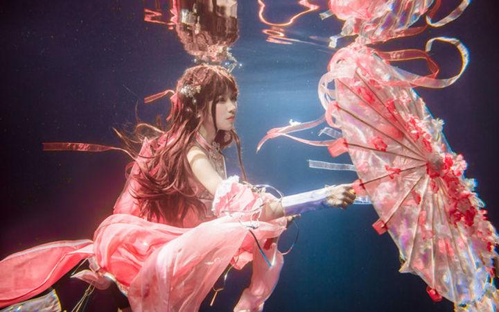 水下的小仙女!《剑网三》朔雪秀萝的COSPLAY欣赏