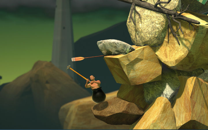 正版来了!《Getting Over it》Steam和IOS同时上架