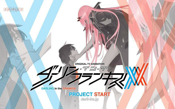矢吹健太朗新作为《Darling in the FranXX》的漫画化