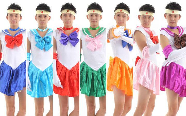 谁还不是个小公主?11区推出男性可用《美战》COS服