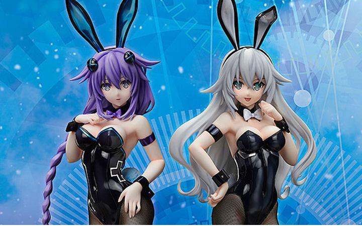 FREEing《超次元游戏》紫色之心兔女郎1/4比例手办