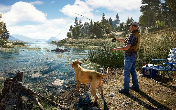 PETA批评暴力游戏《孤岛惊魂5》!钓鱼系统使人忘记鱼的痛苦