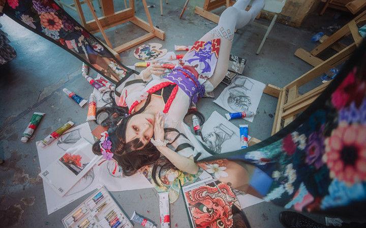 颜值创意都是满分!手游《阴阳师》花鸟卷的COSPLAY欣赏