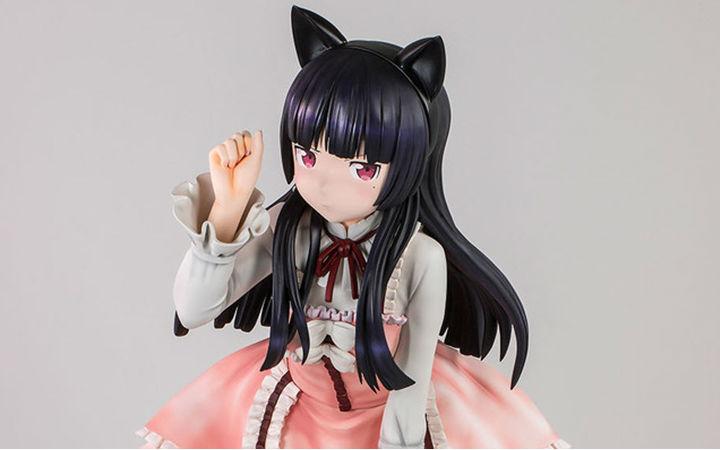 160万日元!FIGUREX《俺妹》黑猫等身大手办开订