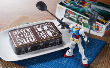 《高达》模型诞生35周年纪念蛋糕发售