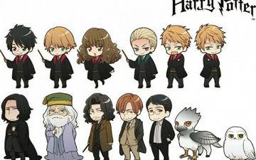 一起看日本人搞的动漫版《哈利波特》