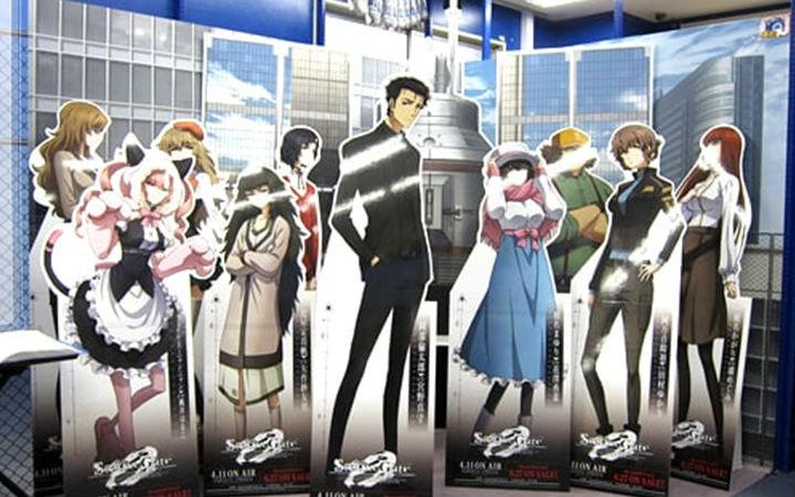 日本秋叶原Animate《命运石之门0》主题展现场