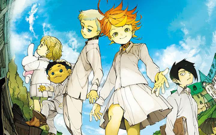 少年漫画电子书最新排名:《约定的梦幻岛》蝉联第一