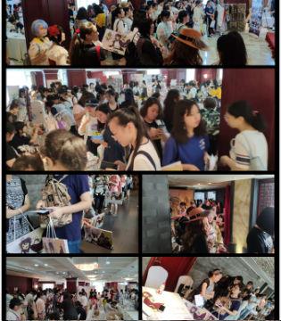 715EXA女性限定同人展已圆满落幕,活动现场同人氛围良好