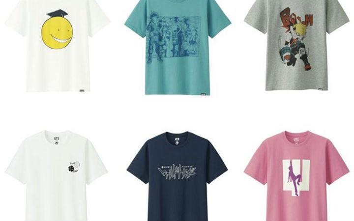 JUMP50周年优衣库T恤最终弹发售!《英雄学院》款引发热议