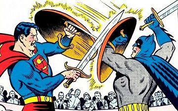 超人与蝙蝠侠在漫画里的对战胜负情况如何?