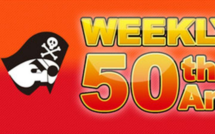 JUMP50年纪念频道开设,80部以上动画免费播放