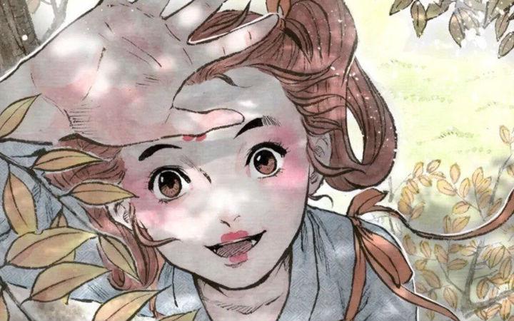 当二次元遇上水墨风,小姐姐笔下的漫画简直帅爆了!