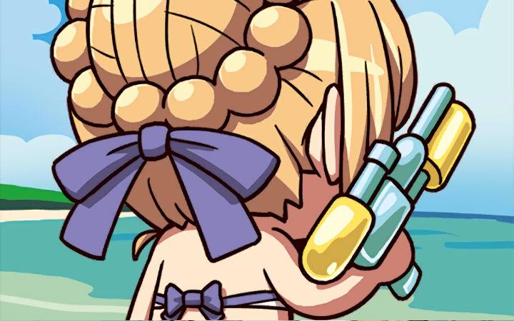 网友氪7万日元想在亚瑟王墓前抽泳装阿尔托利亚!