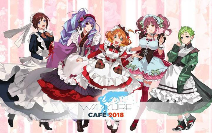 《超时空要塞delta》女武神联动东京AREA-Q将举办咖啡厅活动