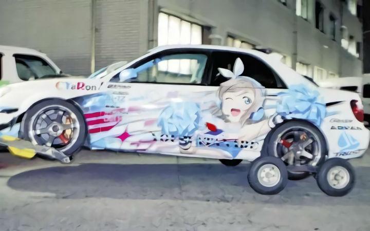 日本23岁男性因涉嫌驾驶痛车肇事逃逸被警方逮捕!