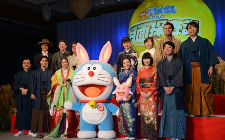 上月球去冒险!剧场版动画《哆啦A梦》新作3月1日上映