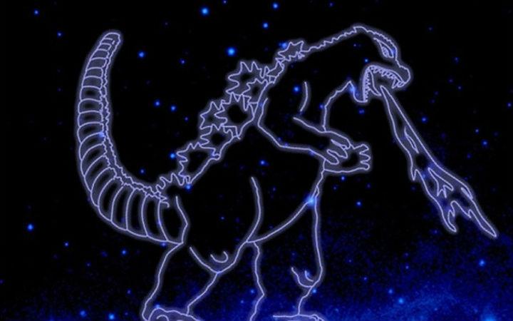 哥斯拉成星座!NASA认定伽马射线天体构成的22个星座