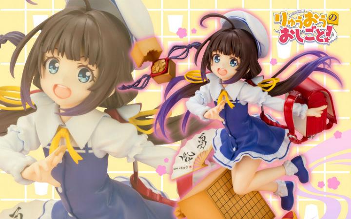 天才将棋少女-小三萝莉雏鹤爱 寿屋1/7比例手办开始发售!