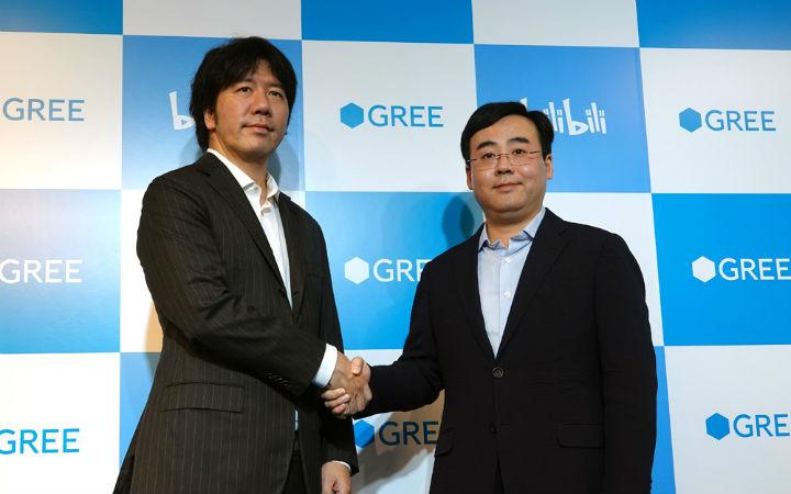 GREE与B站达成业务合作!强化VTuber和手游业务