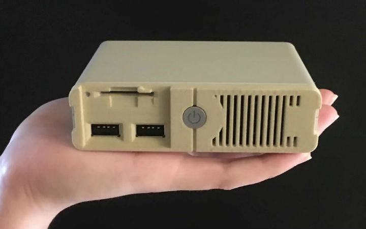 收录30部以上游戏!Unit-E推出小型DOS游戏机PC Classic