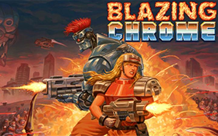 致敬《魂斗罗》,游戏《Blazing Chrome》上线时间确定