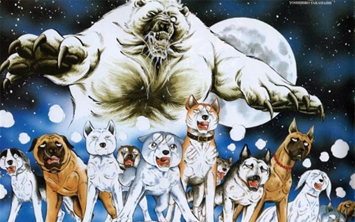 一只狗的传奇,漫画《银牙-虎纹猎犬物语》舞台剧化