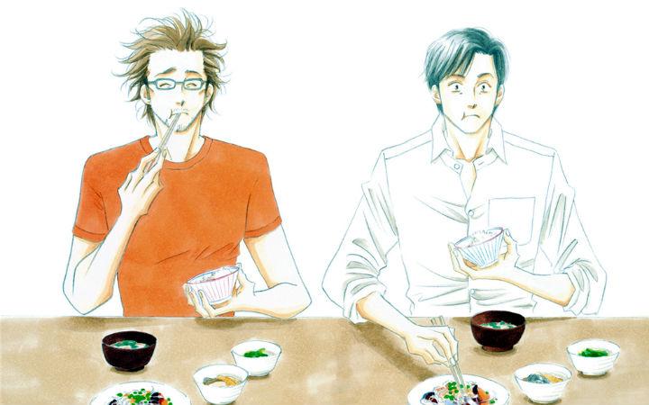 美食与爱,耽美漫画《昨日的美食》真人化决定!