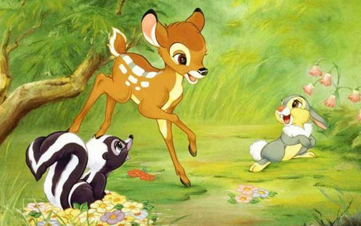 男性非法猎鹿 被法官判处在服刑期间每月看《小鹿斑比》