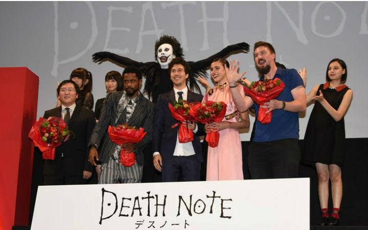电影《死亡笔记》因使用现实发生的事故的照片引发争议