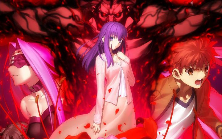 剧场版动画《Fate/HF》第二部的票房成绩超越前作!