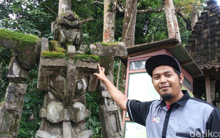 """印尼媒体探寻""""高达石像""""真相!找到了高达像的制作人"""